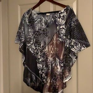 S Twelve dressy blouse
